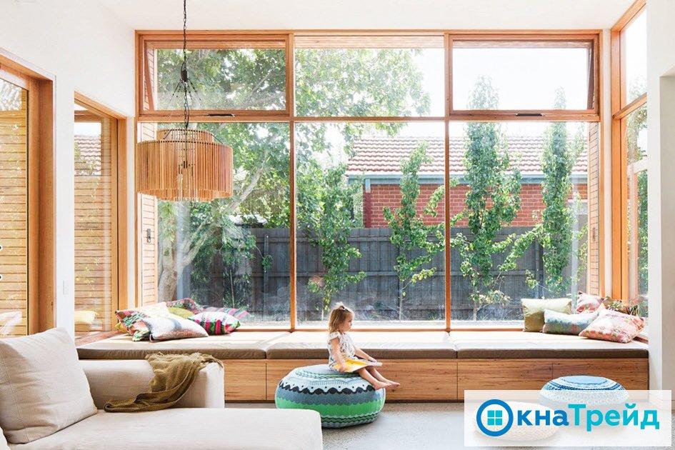 Окна без штор – оформление и дизайн по новым правилам