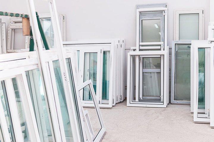 Собранные ПВХ окна