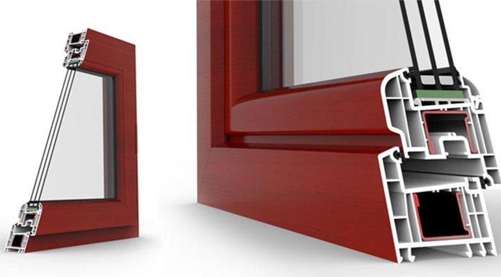 Профиль REHAU BRILLANT-Design